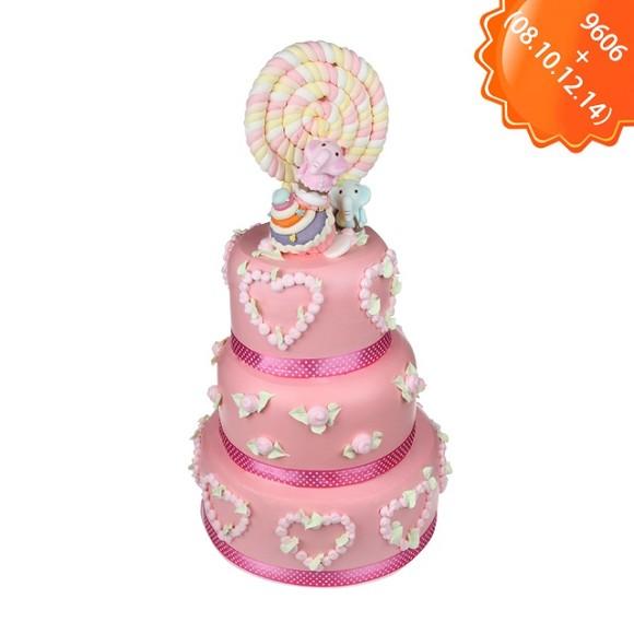 浪漫的粉红色,是公主的颜色,粉色的小花象征了浪漫和甜蜜,可爱的小象