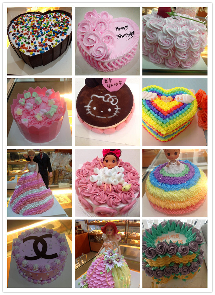 女孩图案蛋糕图片-蛋糕图案diy简单图片-好看的女孩-.