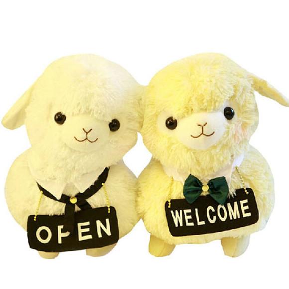 羊年公仔 超可爱情侣羊驼
