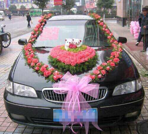婚车装饰_婚车装饰