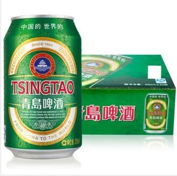 青岛啤酒经典11度330ml*24瓶
