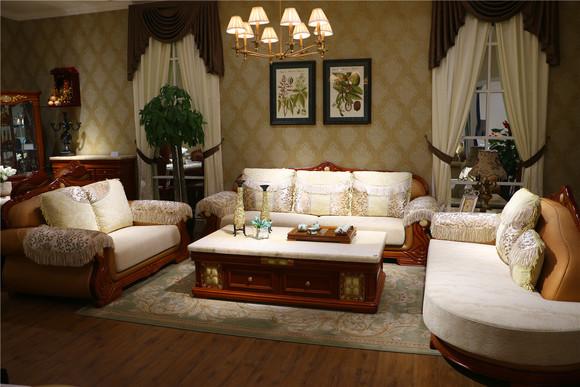 港府太子 781 欧式 实木 沙发组合 二人位 四人位 妃位
