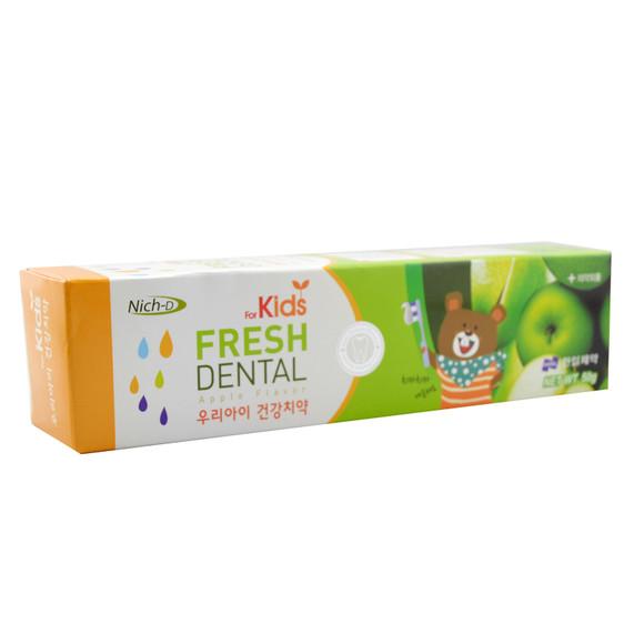 丽齿乐 苹果味儿童牙膏50g 韩国原装进口