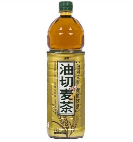 _黑松 油切麦茶 1.25l