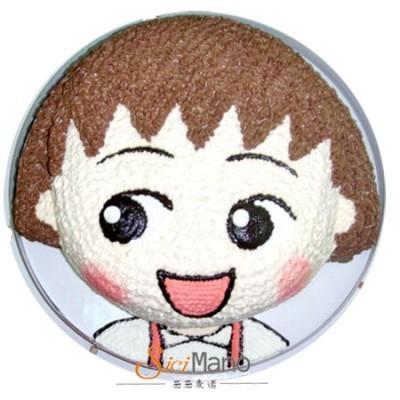 卡通蛋糕可爱小丸子生日蛋糕店即墨胶州平度莱西青岛