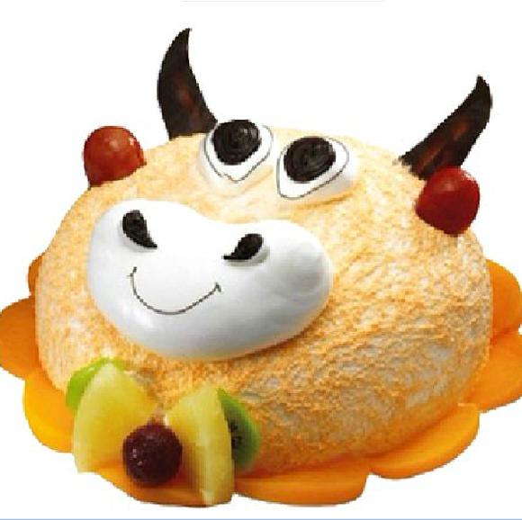 卡通生日蛋糕可爱小朋友西安宝鸡咸阳渭南铜川延安送