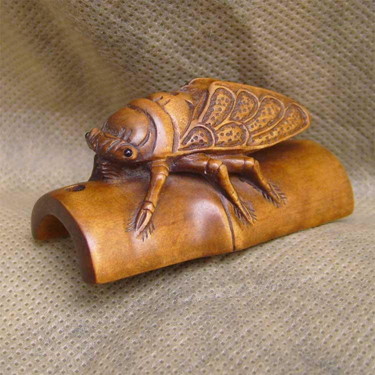 木檀世家黄杨木雕小件 双面精雕貔貅 任选一件 手工雕琢极为细致,是
