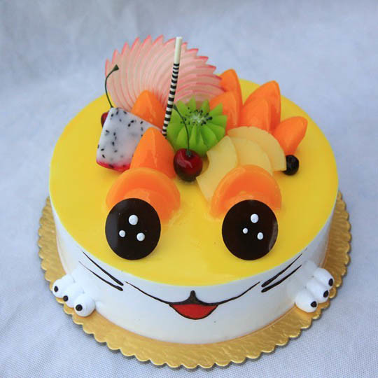 【儿童卡通蛋糕】小可爱