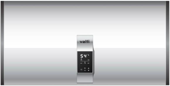 华帝电热水器55l 55md1 电脑面板界面 搪瓷内胆 超长保温72小时 免费