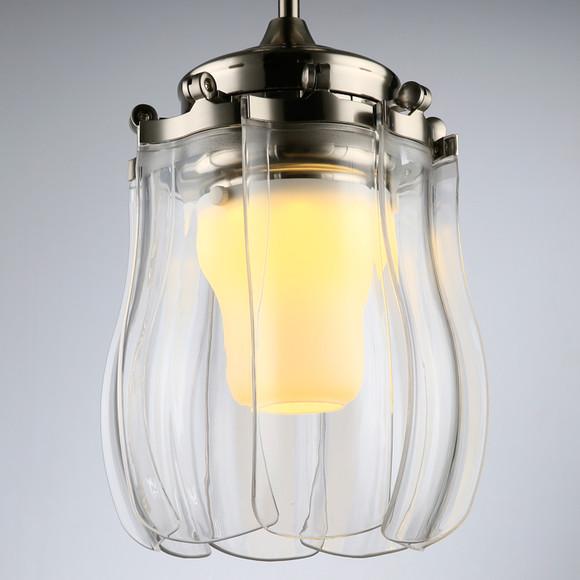 led变光客餐厅灯 起飞风扇折叠带灯电风扇吊灯简约时尚现代风扇灯