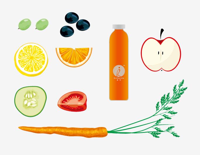 果汁logo矢量