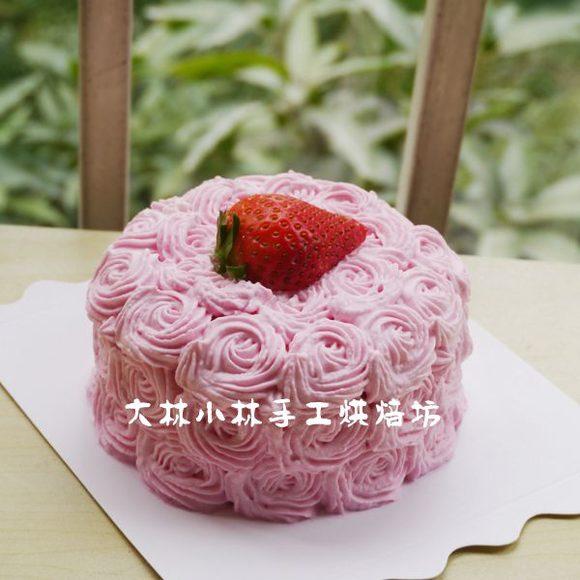 蛋糕盘手工制作花朵 小鱼