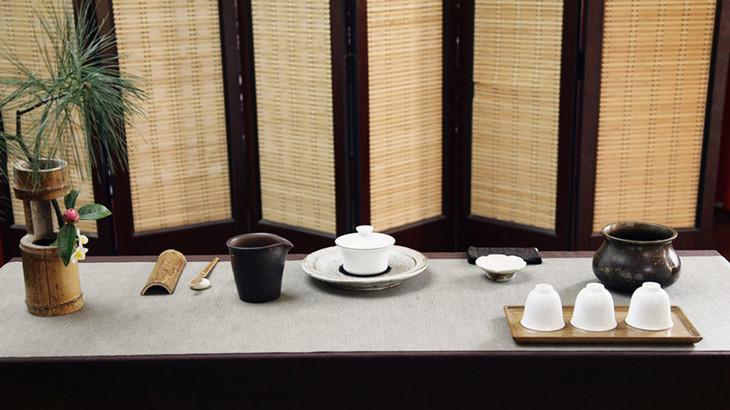 ——听琴赏画,焚香煮茶,主题茶席设计展示,分享.图片