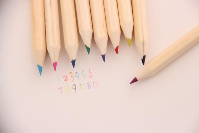 顽创意 文具马可铅笔 手绘铅笔画套装画画笔彩色迷你美术马克铅笔