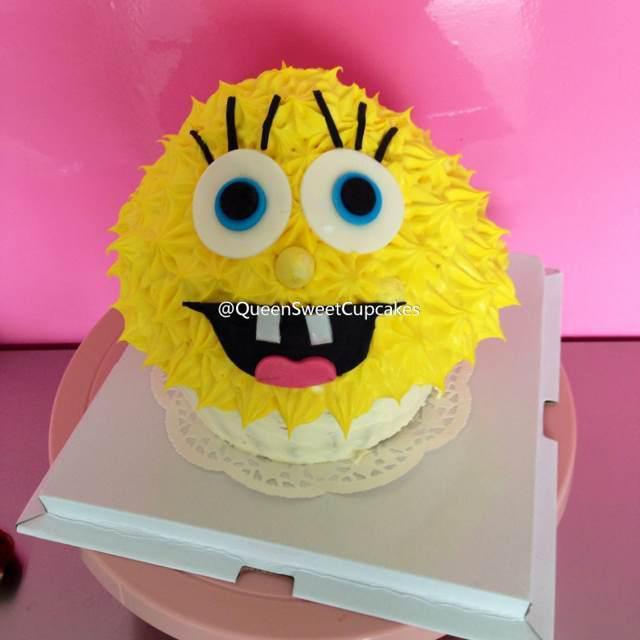 大号海绵宝宝生日蛋糕