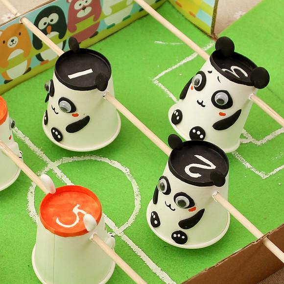 足球创意手工_以足球为主题的diy作品