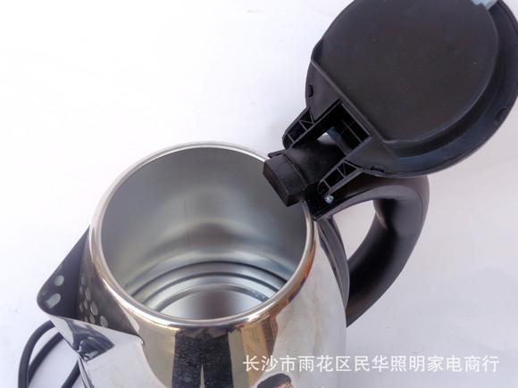 8升不锈钢电热水壶 1.8l自动断电保温礼品电水壶