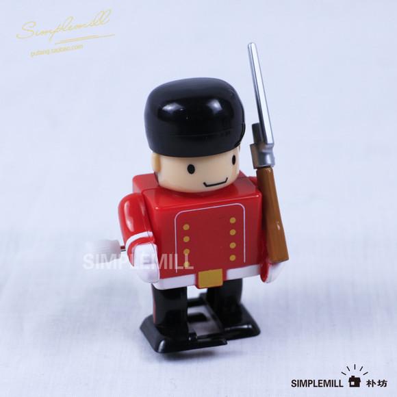 发条玩具-12款小士兵 儿童洗澡经典