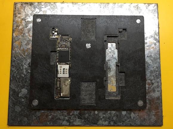苹果主板维修台4代/5代/5s/6/6plus电路板维修架子主板维修夹具