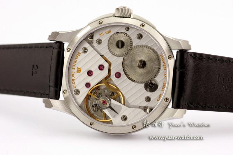 王�����yja��+�,_银色面,银色指针,43mm表径,条钉刻度时标,不锈钢表壳.