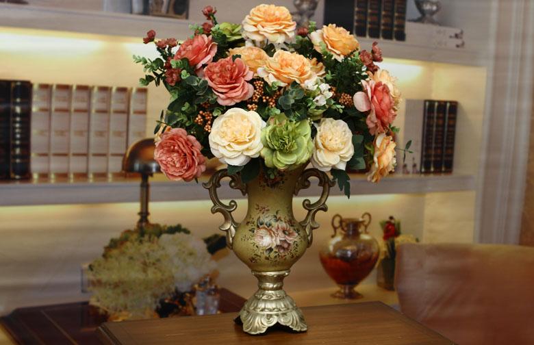 欧式古典大号花器家居装饰品