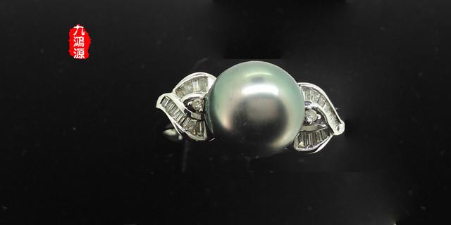 黑珍珠戒指