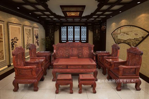 商品详情 一:商品属性 型号 大竹节大象头沙发 木材材质 缅甸花梨