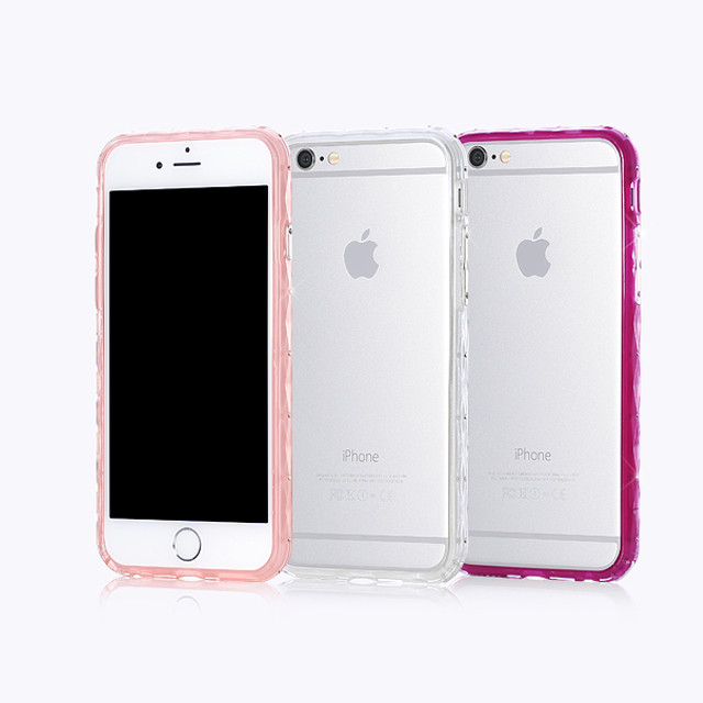 7寸镶钻手机边框苹果6保护壳