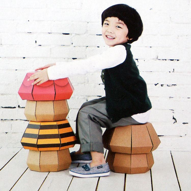 超大号幼儿园儿童游戏屋益智拼装玩具屋画画纸房子特