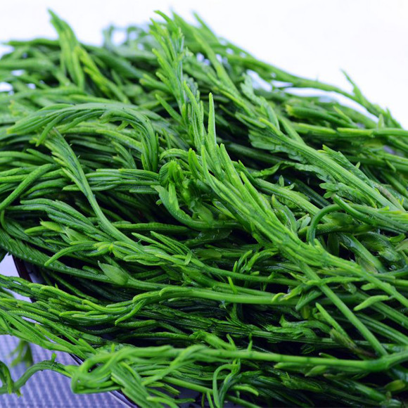 嫩梢,在采收食用部分时,就可闻到一种特殊的臭味,傣族吃臭菜的做法有