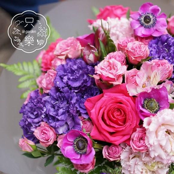 四月花艺沙龙 粉色主题 花束