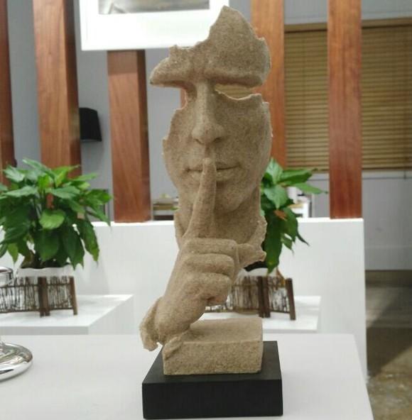 安静欧式雕塑艺术品摆件家居装饰品