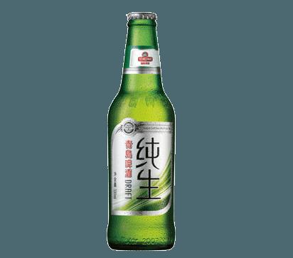 青岛纯生玻璃瓶