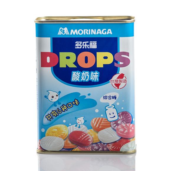 台湾原装进口零食糖果 森永水果糖 果汁硬糖180g 酸奶