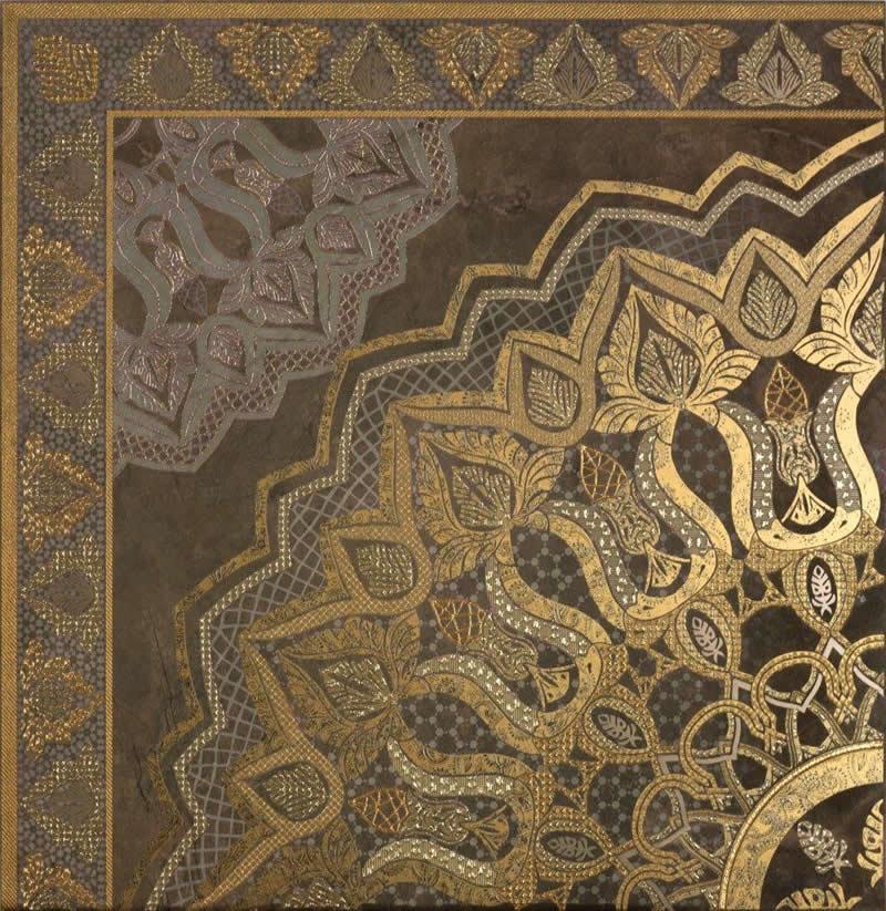 墙砖花片186919杜尼瓷砖 咖色系列 中式风格 西班牙进口瓷砖 dune图片