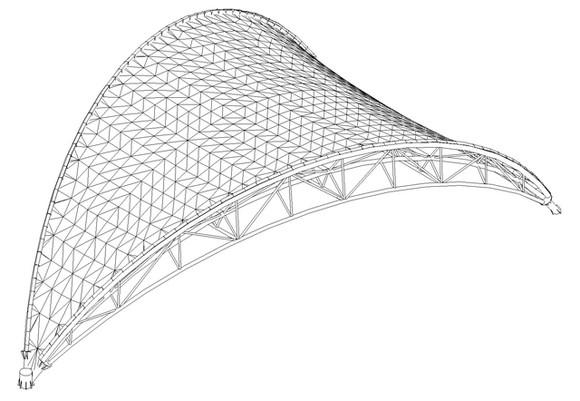 膜结构舞台_编号a-272