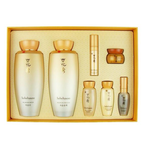 雪花秀滋阴套盒 韩国化妆品滋阴水乳套盒 美白保湿护肤品套装 女