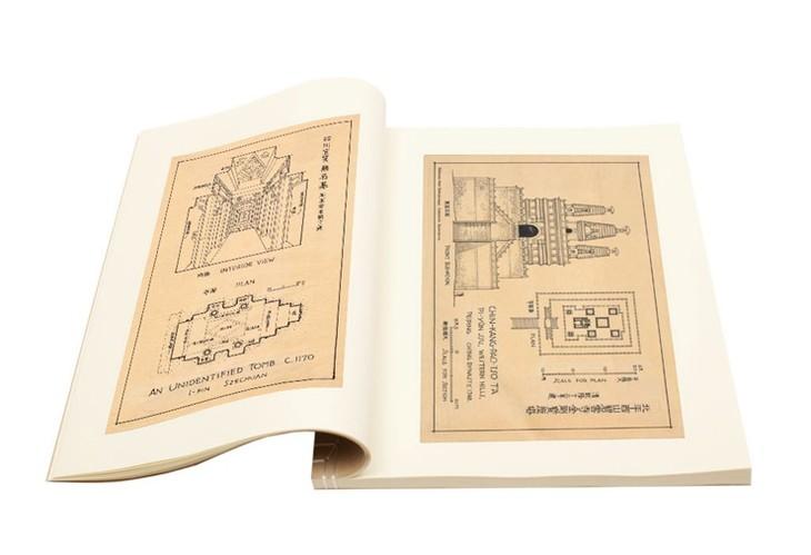 梁思成《图像中国建筑史》手绘图(首次依原件翻拍再版