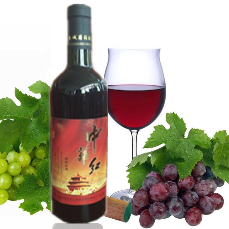红酒瓶的结构素描