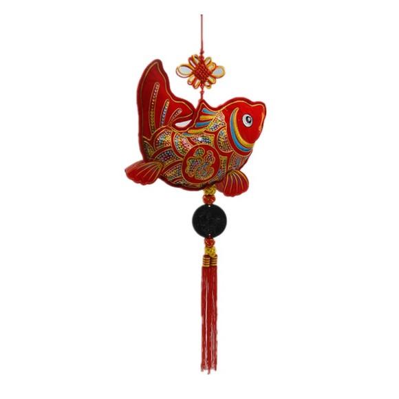 单鱼系列家具装饰品手工制作年年有鱼(大)