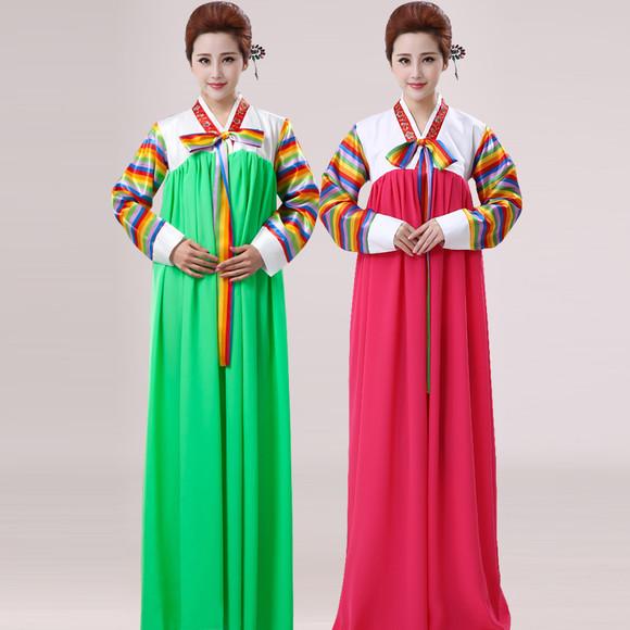 古装大长今 朝鲜族服装 少数民族女装演出服 传统韩国