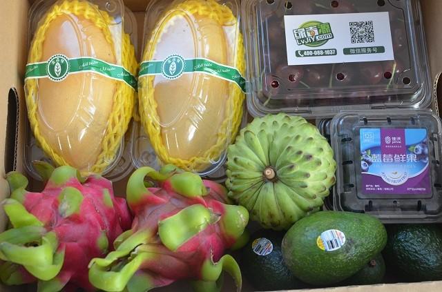 新鲜进口水果,水果礼盒,搭配等级:春华秋实图片