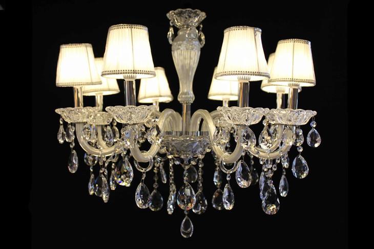 8066-8 现代时尚欧式水晶吊灯