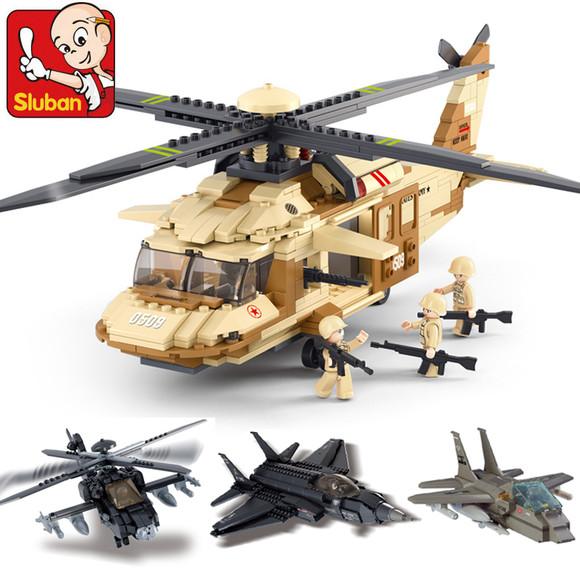军事战斗直升飞机模型