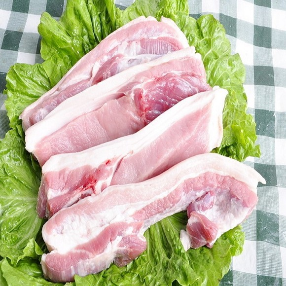 肥瘦搭配的猪肉
