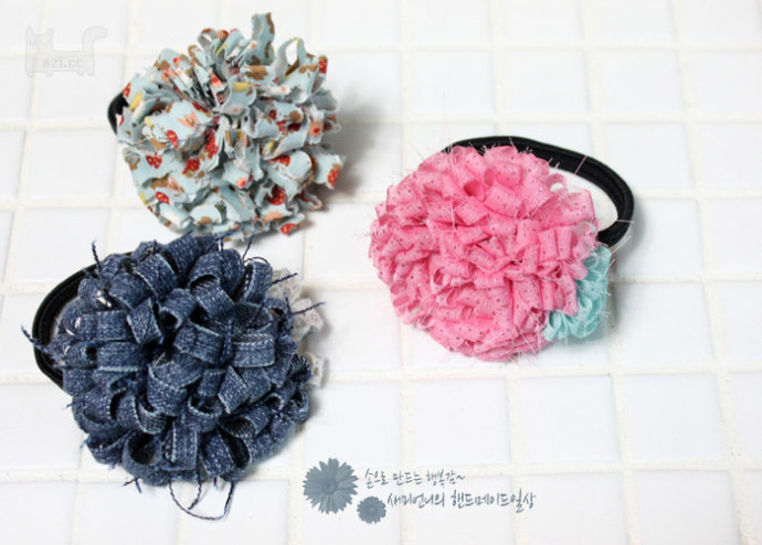 布条帽子的钩织方法