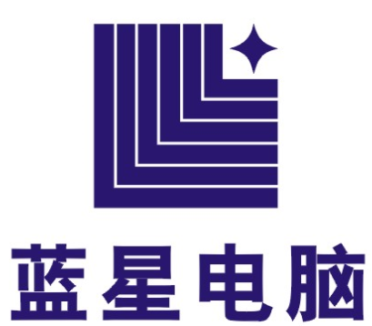 中国蓝星logo矢量图