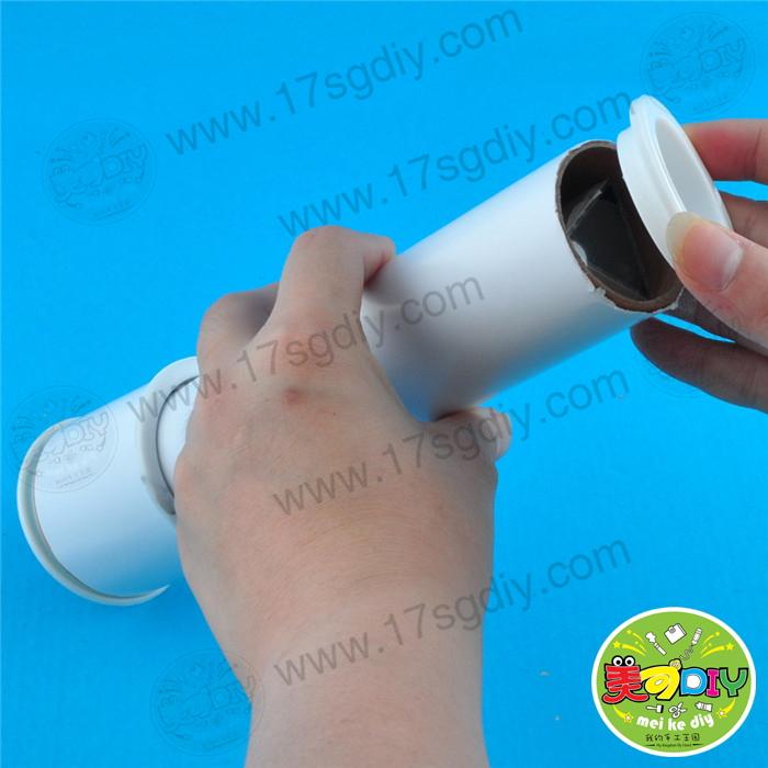 自制万花筒幼儿园儿童手工diy材料美可diy创意益智