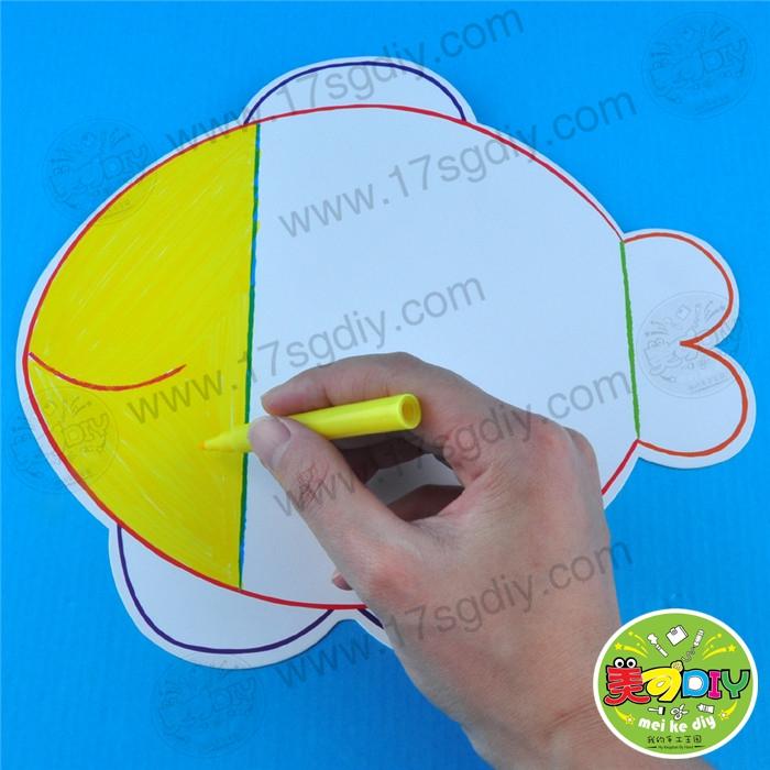 儿童手工制作口罩