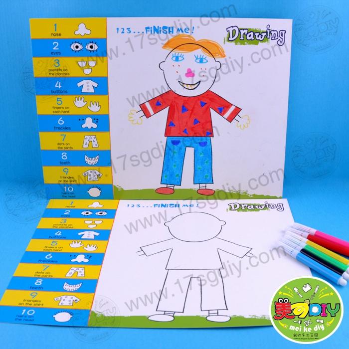 幼儿园手工简笔绘画图片
